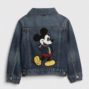 Baby gap Mickey Mouse Jean jacket